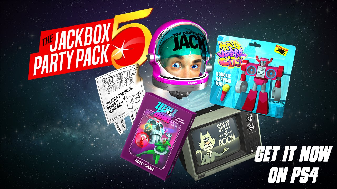 """Jackbox Games on Twitter: """"Calling all PS4 players! The ..."""