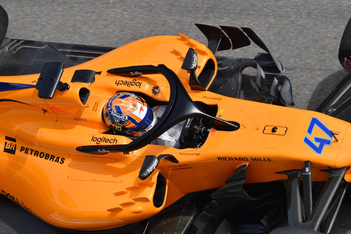 He may only be 18 years old but @LandoNorris has impressed everyone at @McLarenF1 with his maturity >> f1.com/Norris #F1