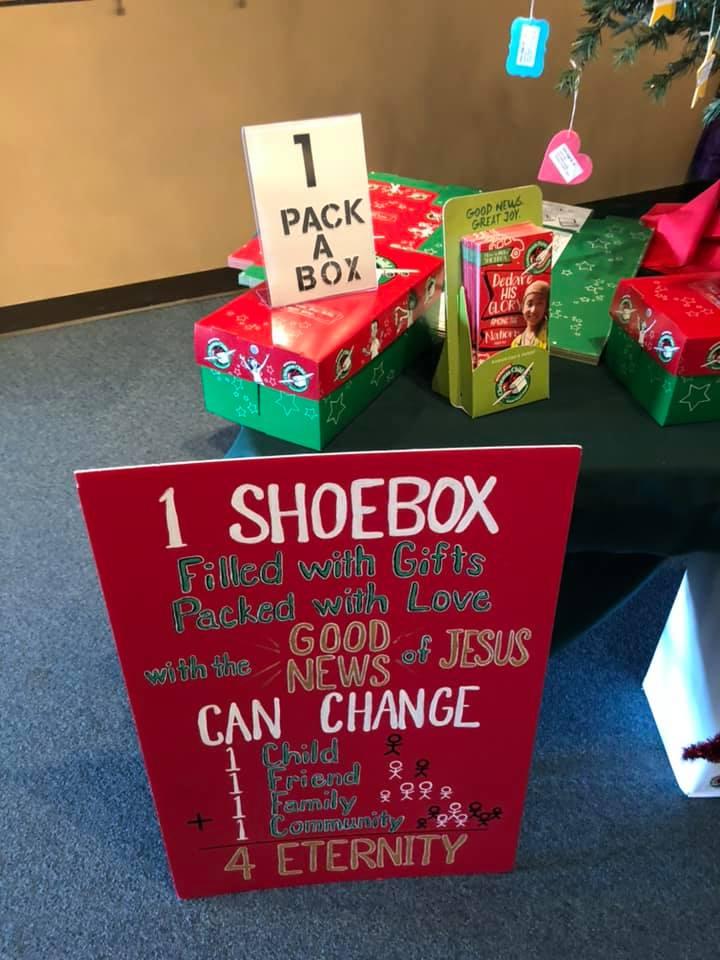 Operation Christmas Child Shoebox Display.Operation Christmas Child On Twitter It S Shoebox Time