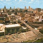 Image for the Tweet beginning: Downtown KC, a throwback to