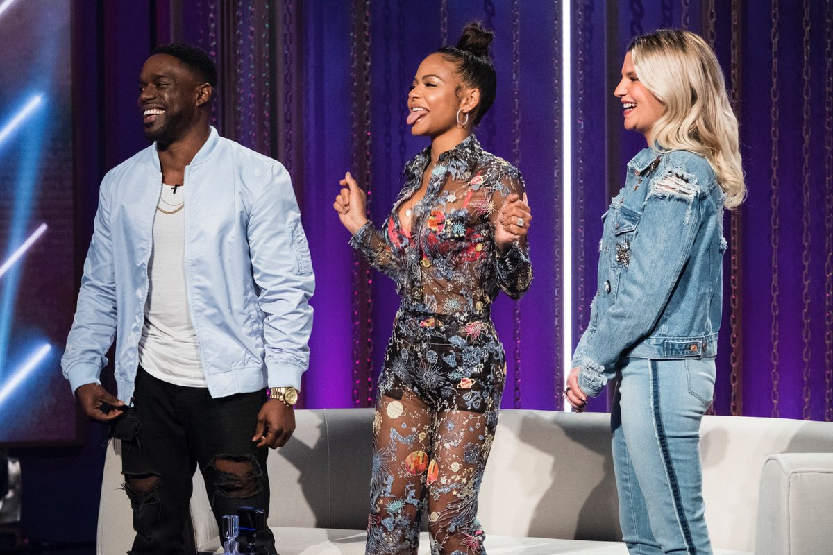 That feeling when you think about the #SafeWord season finale! 😝 Be sure to tune in to @vh1 TOMORROW at 11/10c to see @ChristinaMilian and @Karrueche battle for the throne. You dont wanna miss this!