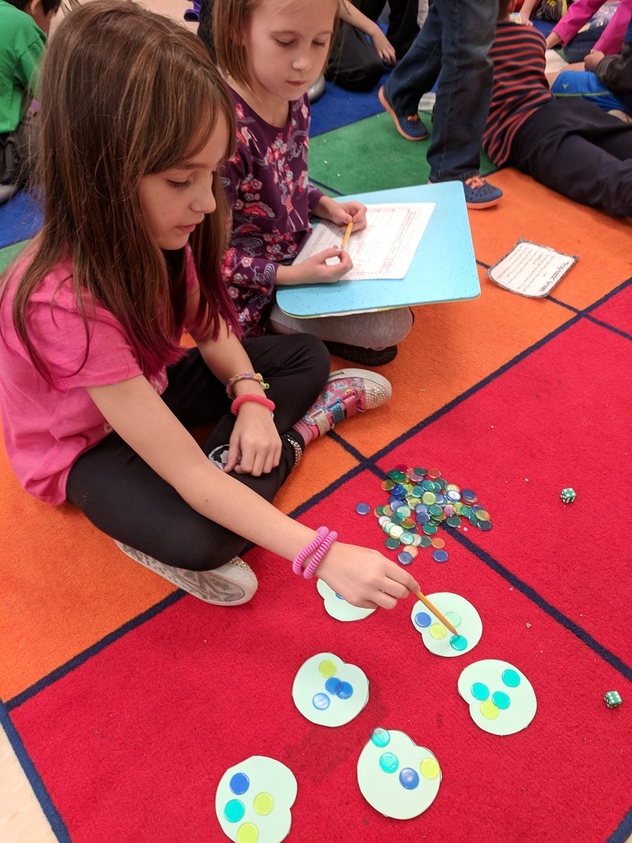 Guess who's learning about multiplication this week! We're using equal groups as our first strategy to solve multiplication equations <a target='_blank' href='https://t.co/z6bI5sS87t'>https://t.co/z6bI5sS87t</a>