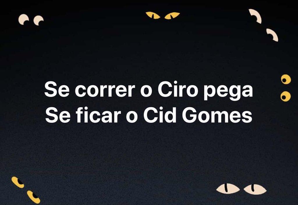 Com aliados como Boulos e Cid Gomes, @Haddad_Fernando tá frito, nem precisa de adversários #FogoAmigo #LulaTaPresoBabaca #OcupaCasa