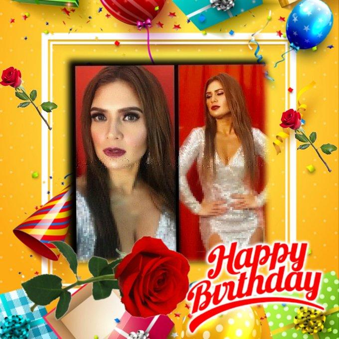Happy birthday Vina Morales