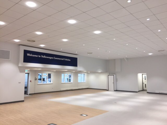 The showroom refurbishment at Marshall Volkswagen Van Centre #Bridgwater is complete and looks great! Furniture is going in this week, ready for the business to move back in on Monday 22nd! We can&#39;t wait to invite you to come and see our new space! #marshallmoments<br>http://pic.twitter.com/qerg6iPGCn