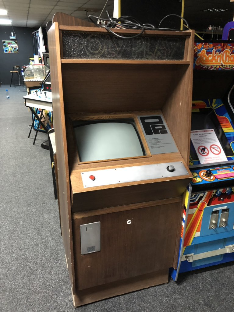 Th @flipperarcadee  museum also has a really weird coin-op game from East Germany, Williams playfield found from a barn and an arcade Commodore 64! Great stuff.