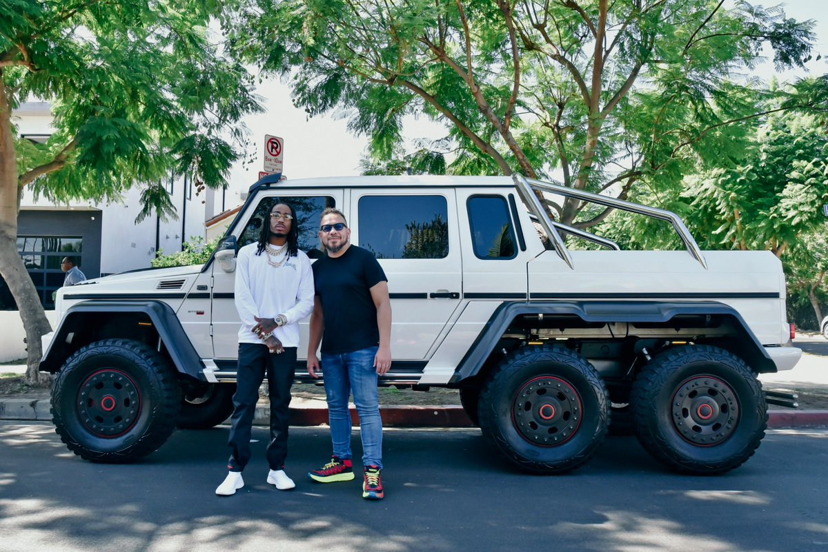 Monday! #CarTest @QuavoStuntin #TIDAL