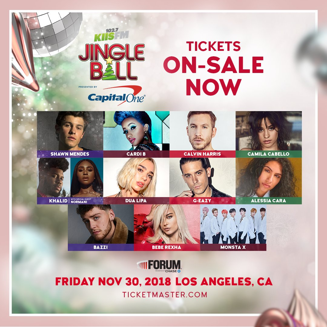 Which of our #KIISJingleBall artists would you want to collab on-stage?   Tickets are on-sale now! https://t.co/gGXT3mtf6q