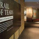 Image for the Tweet beginning: #CherokeeNation opened a new exhibit