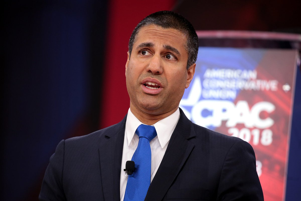 Once you sort out the fake comments that were filed with the FCC, 99.7% opposed the repeal of net neutrality https://t.co/GfRM6bEd15