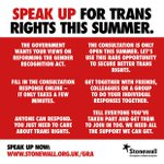 #ComeOutForTransEquality Twitter Photo