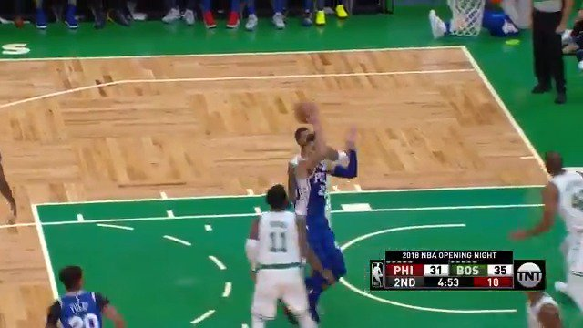 .@BenSimmons25 is a magician out there. #SCtop10 (via @NBA)