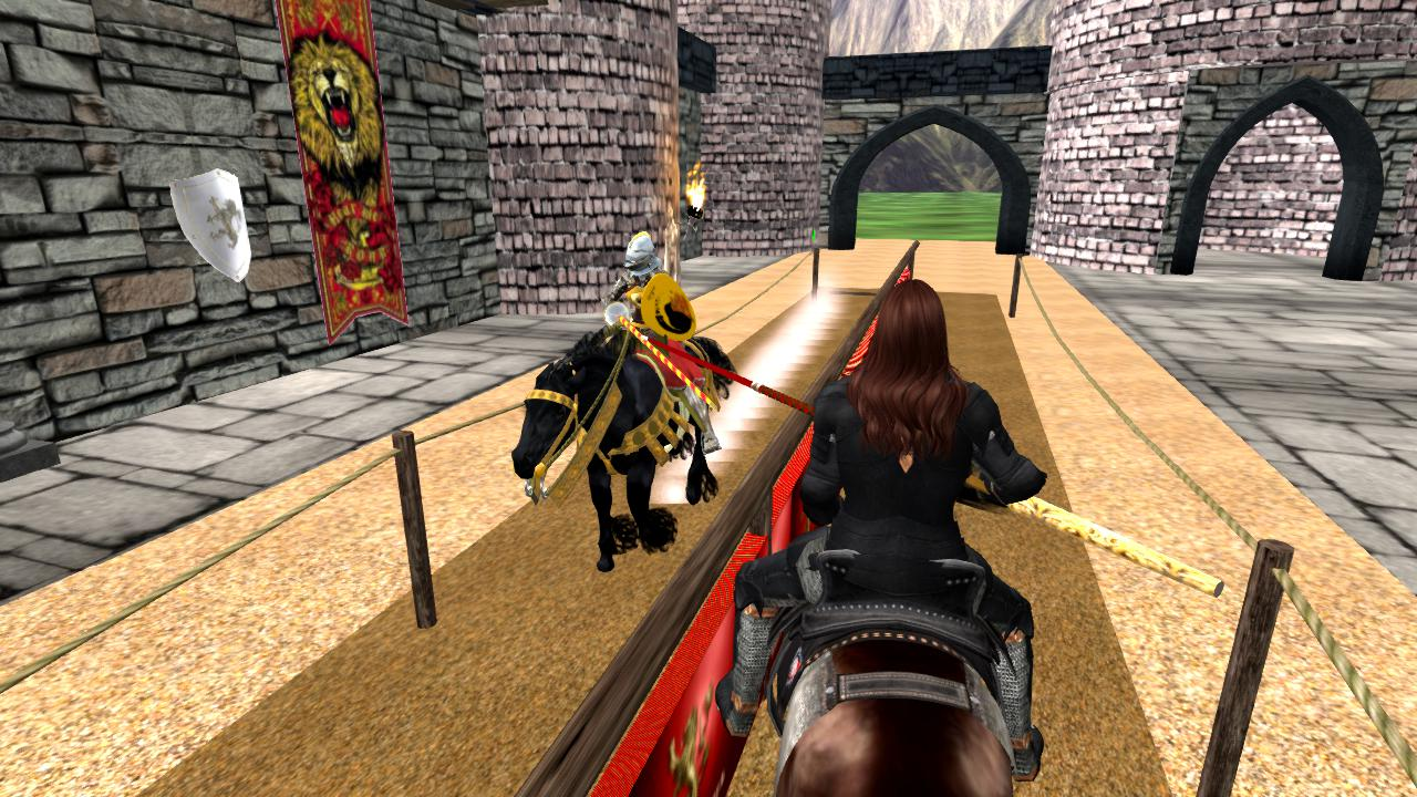 CASTERLY ROCK JOUST In Second Life, 7PM SLT (10/16/2018)
