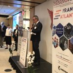 The #FranceAtlanta2018 Welcome Reception held @atlchamber kicked off a particularly exciting event series. Thanks to @atlchamber Pres & CEO @HalaModdelmog, @CityofAtlanta Mayor @KeishaBottoms, @FranceAtlanta CG @LouisdeCorail & @GeorgiaTech  Pres Peterson for the inspiring words!