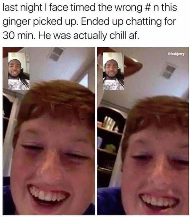 ginger jokes dansk