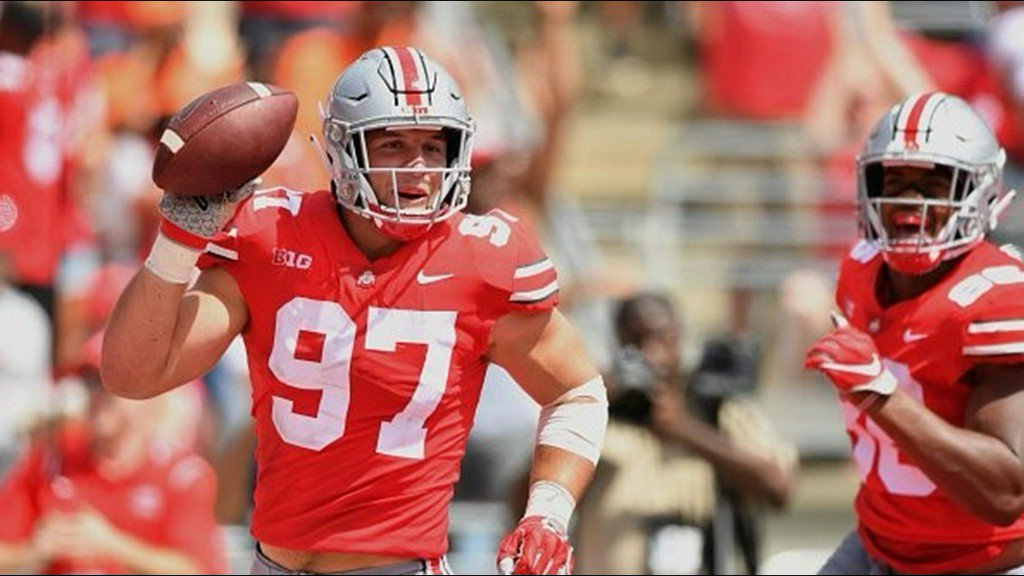Nick Bosa will not return to Ohio State after injury and instead focus on NFL draft https://t.co/kbnapNfOlE
