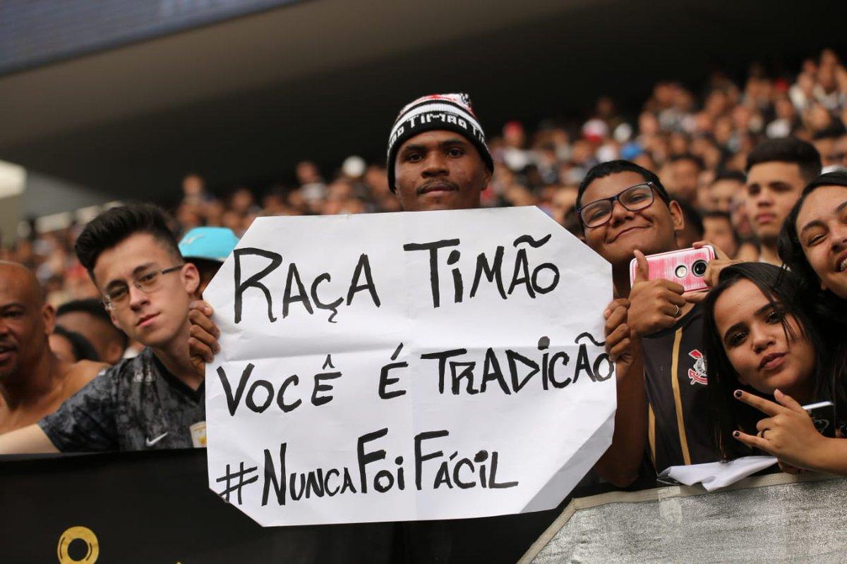 #NuncaFoiFácil  📷 Bruno Teixeira  #FinalCopaDoBrasil #VaiCorinthians
