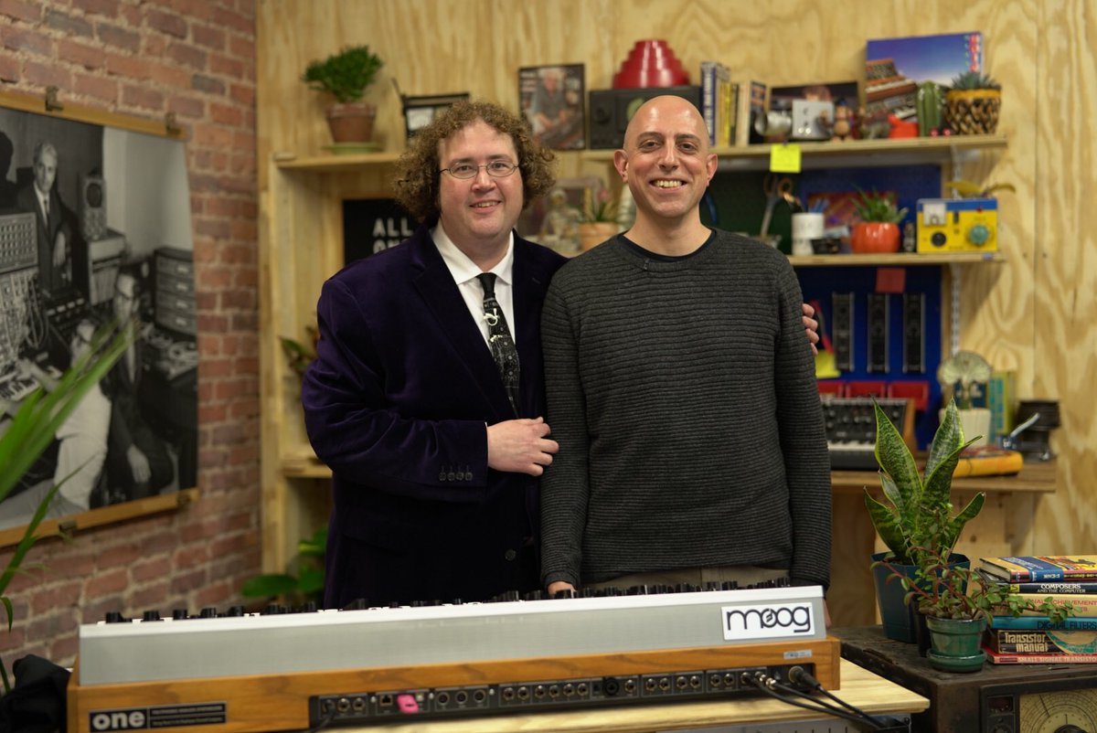 """You can watch all of the archived """"#MoogOne Sound Designer"""" live-streams right now w/ Suit & Tie Guy, Gary Hull, and Kevin Lamb: https://t.co/hUMuQXum6L"""