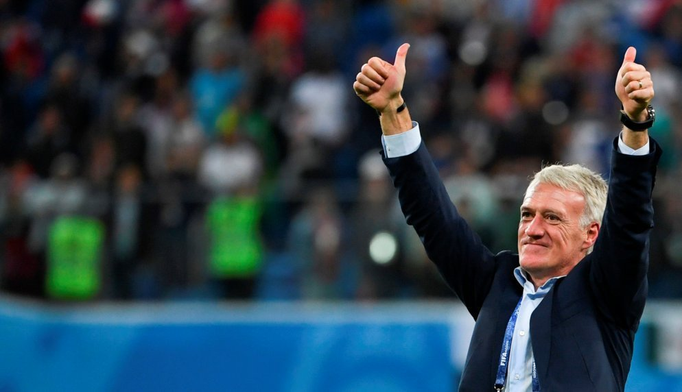 Thursday: France 2-0 down to Iceland after an hour - draw 2-2.  Tuesday: France 1-0 down to Germany after an hour - win 2-1.