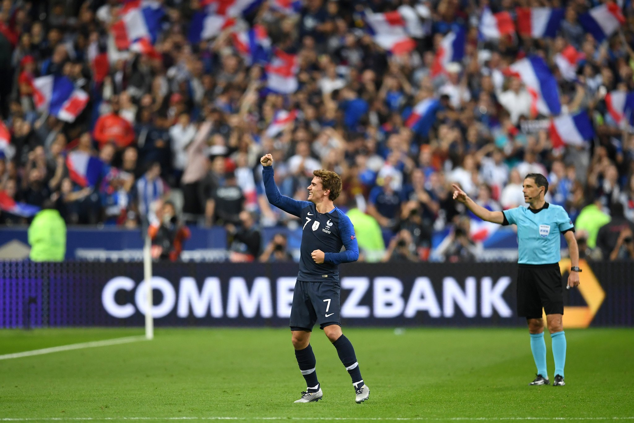 أهداف مباراة فرنسا والمانيا