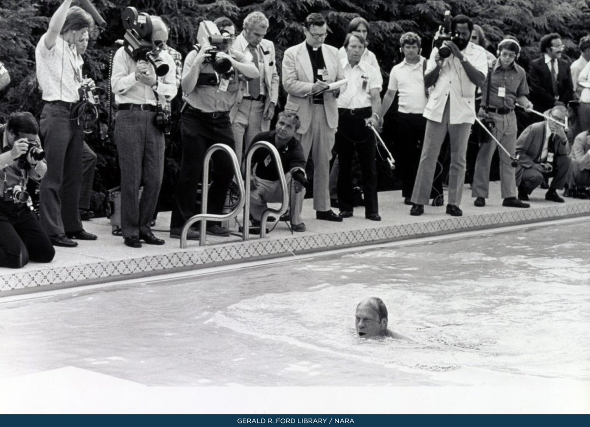 White house history on twitter work on a new swimming pool at the white house began in may for White house swimming pool history