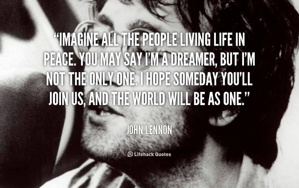 John Lennon On Twitter Johnlennon Yokoono Lennon Imagined A