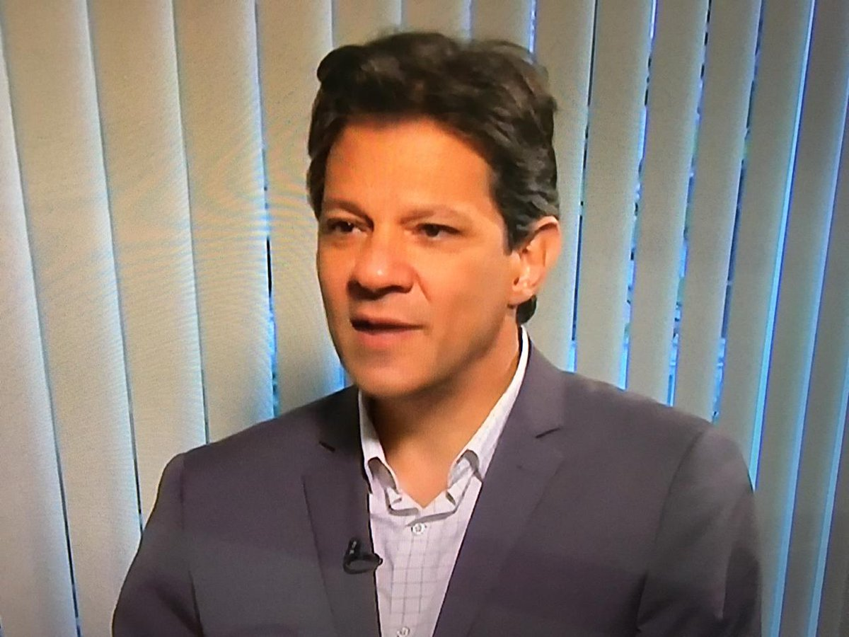 SBT é notificado para entrevistar Haddad, caso Bolsonaro fuja de mais um debate https://t.co/SPX69ActXz