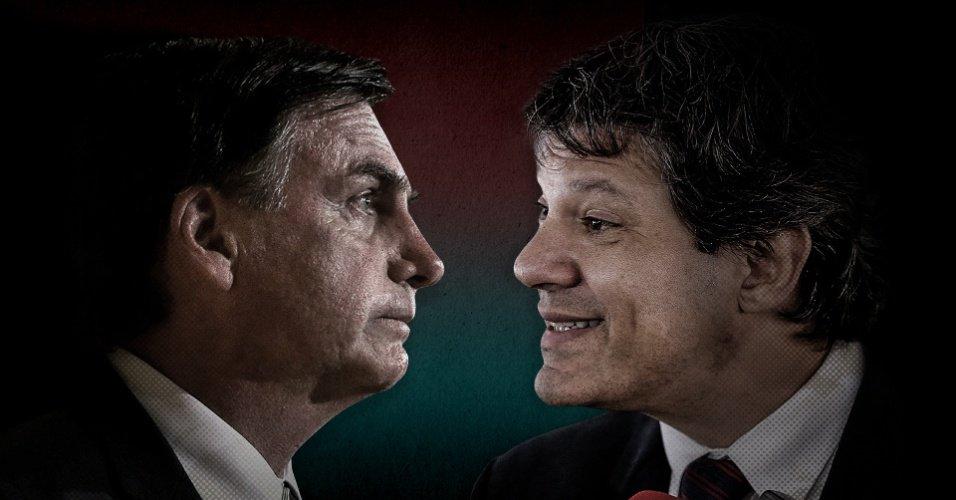 Confronto nas redes sociais   Bolsonaro e Haddad batem boca na web sobre debate https://t.co/D0rtJlQTPT