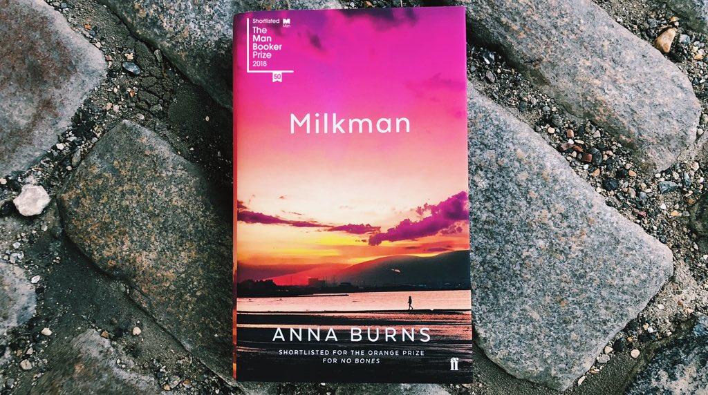 Milkman is the winner of the #ManBooker2018, a huge congratulations to Anna Burns ✨✨✨
