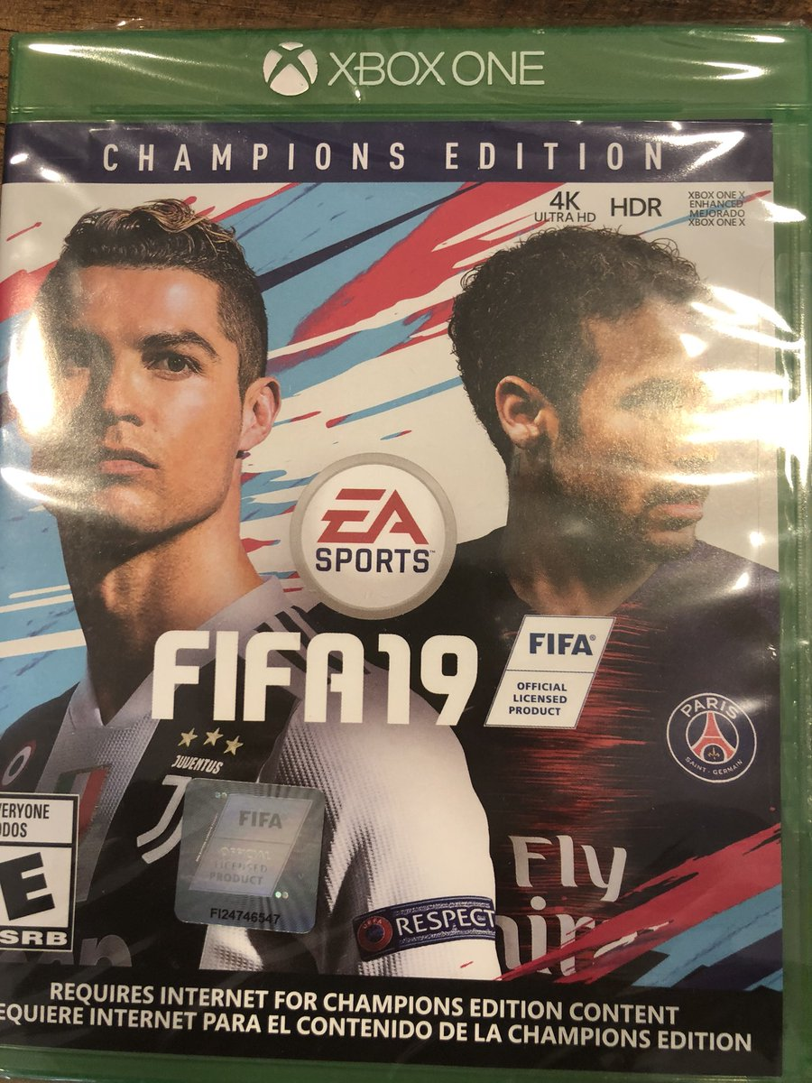 Thanks @easports for the #FIFA19!