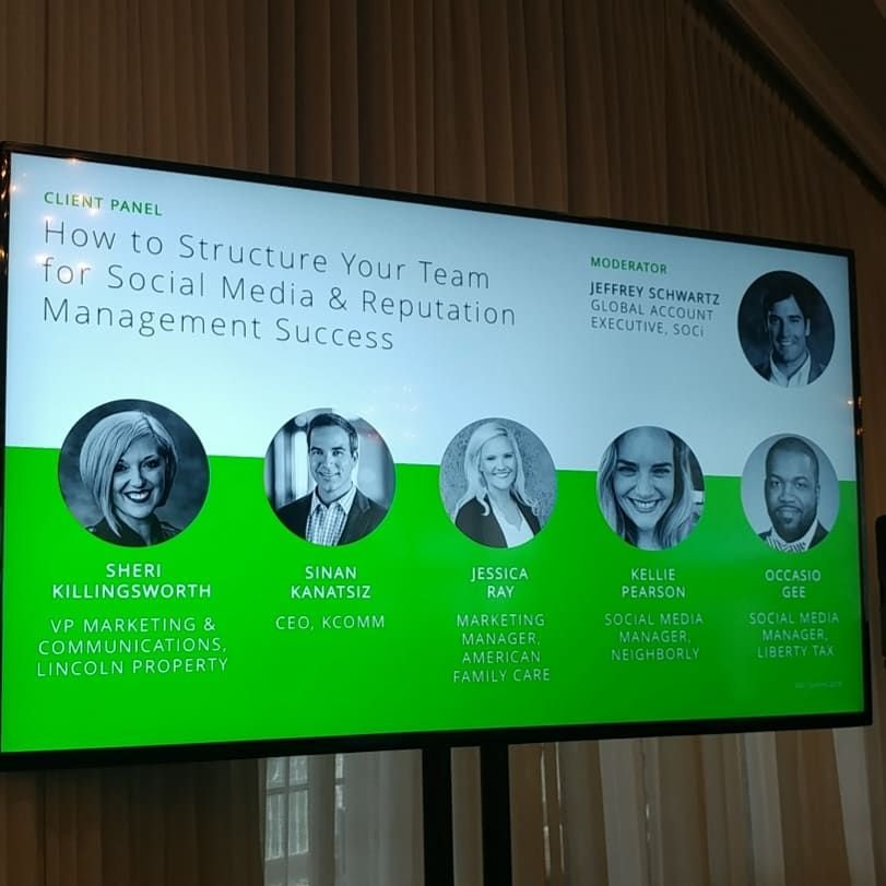 Soci On Twitter Our Panel Of Clients And Experts Including Lincoln