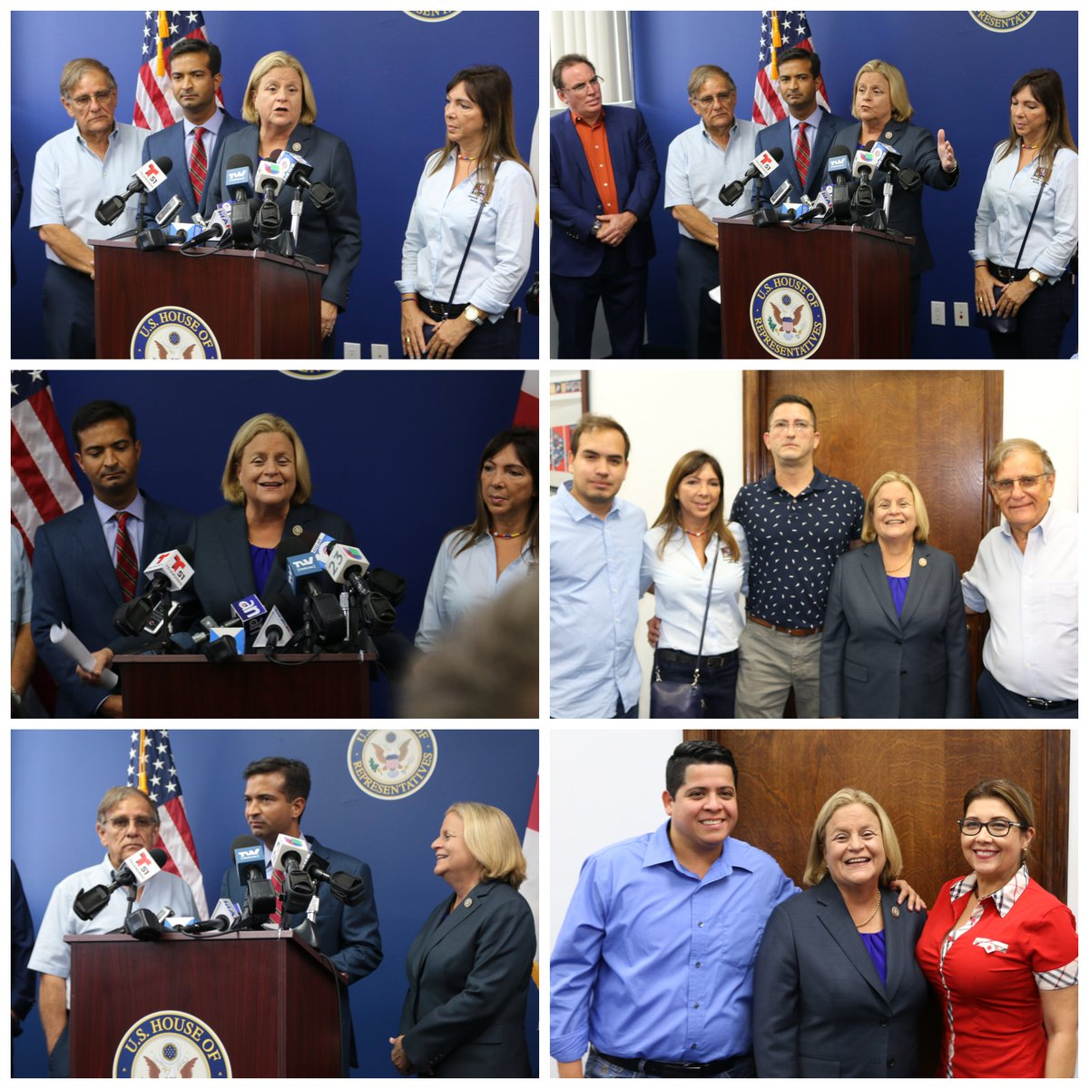 Joined @RepCurbelo, @MarioDB+@RepSires in urging the Admin to demand investigation into Fernando Alban's death+sanction those responsible. #US will not b fooled by lies spread by the #Maduro regime+will continue 2 hold accountable #humanrights abuses against the ppl of #Venezuela