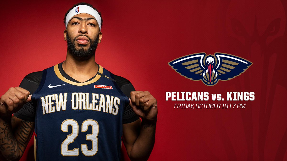 Join us Friday for the Pelicans home opener! #doitBIG 🎟️ bit.ly/2OXDv0m