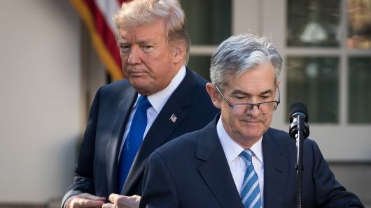 Trump says Fed is his 'biggest threat' because it is raising rates too fast: https://t.co/fINdqkqHHD @thesheetztweetz