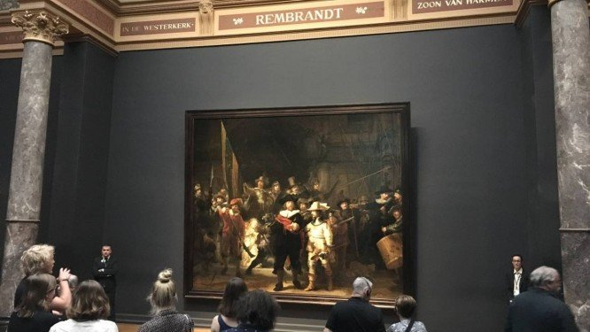 Em ação inédita, tela de Rembrandt terá restauração aberta ao público e transmitida online. https://t.co/DKEwwkMocE