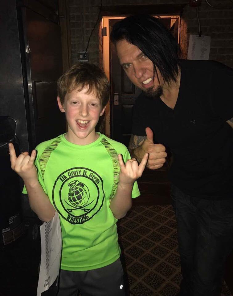 Happy Ryche'n Birthday to @drumCaseyGrillo @queensryche, who is inspiring mini-Rycher drummers around.  Cheers! #OnThisDay #CaseyGrillo #Queensryche<br>http://pic.twitter.com/mBcrCyNwNP