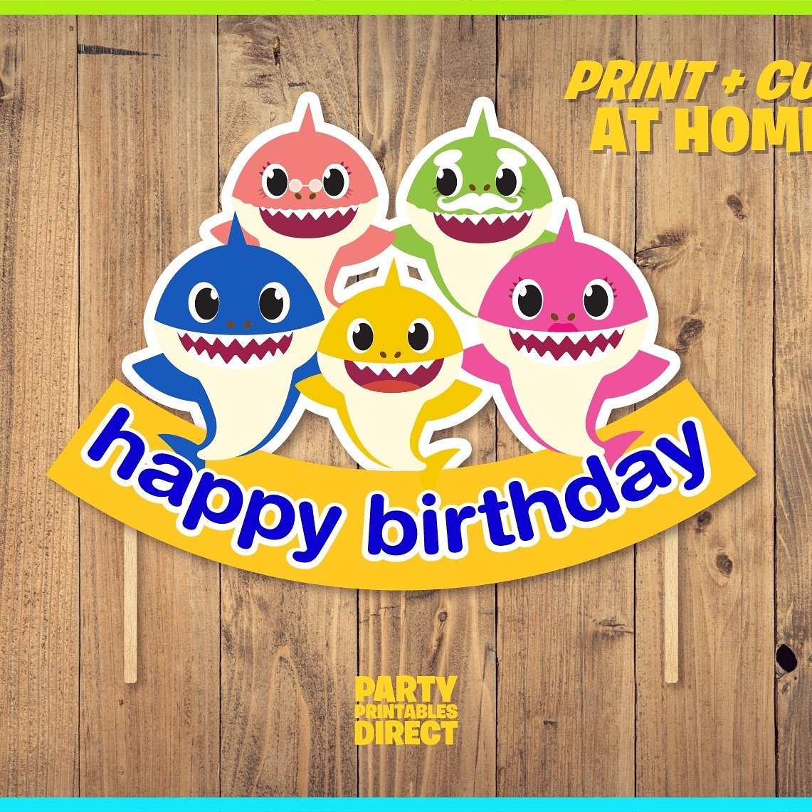 "ZeeEighty3 on Twitter: ""Baby shark printables #babyshark # ..."
