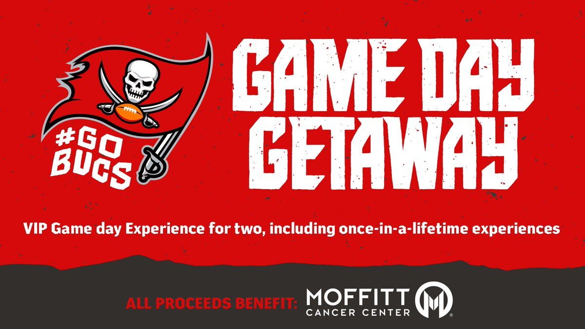 Bid on a once-in-a-lifetime VIP Game Day experience for you and a friend to an upcoming Bucs home game of your choice!  Details » https://t.co/qiQigyd3zJ  #GoBucs | #CrucialCatch