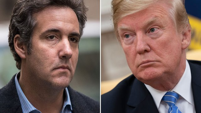 JUST IN: Trump: Cohen lied when testifying that I directed him to break the law https://t.co/eetFPbeklC https://t.co/HKKfaerBnh
