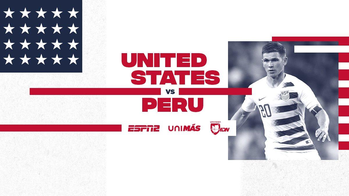 de474217f Timeline  US Men s National Team vs. Peru 10 17 2018