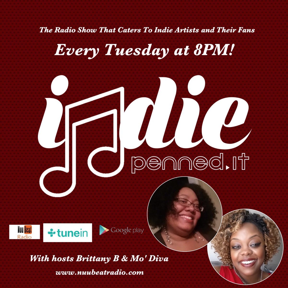 RT @indiepennedit: Just 1 hour away! #music #hiphop #rnb #soul #indieartist #indiemusic #poetry #independentartist #indymusic #clevelandmusic #chicagomusic #indianapolismusic #calimusic #atlantamusic #musicsubmissions #indiepenneditradioshow #indiepenned…<br>http://pic.twitter.com/zAr9MCtwWY