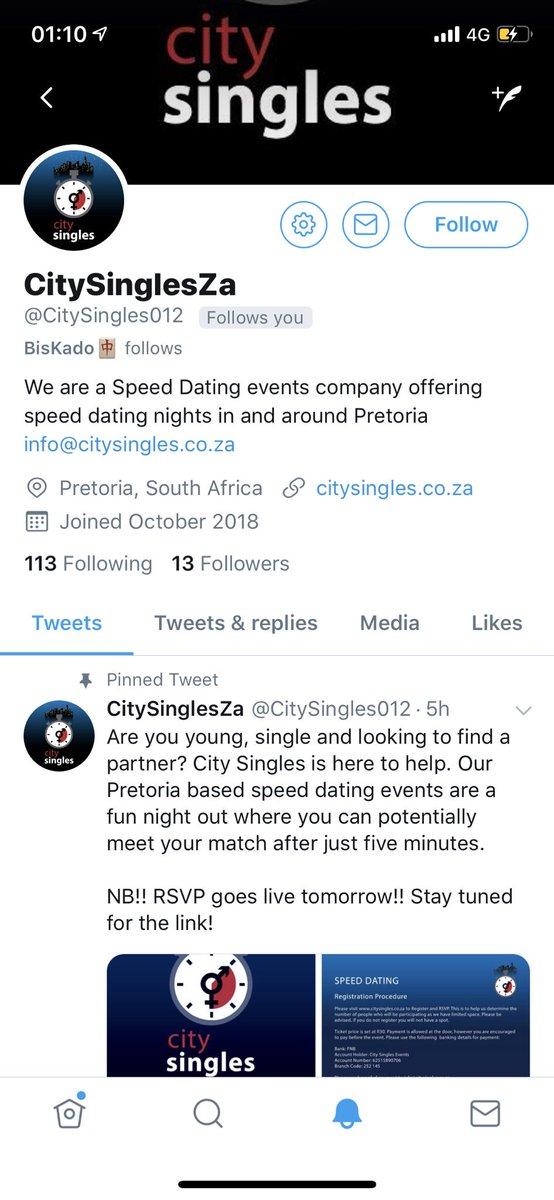 singles events pretoria