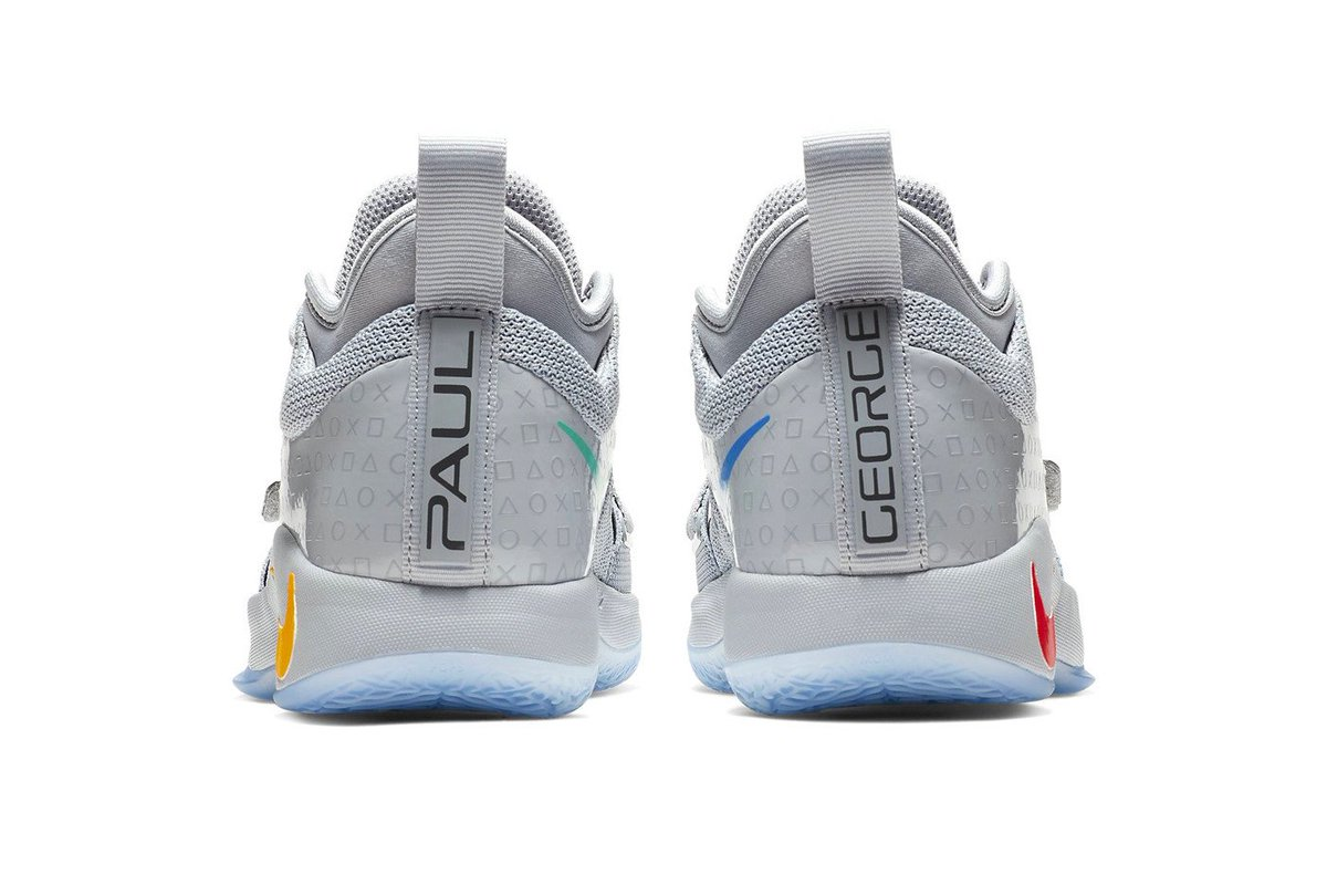 0573f66bfee4 paul george amp nike prep another sony themed sneaker with the upcoming sony  playstation grey pg