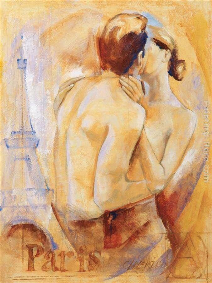 Gay girl painting by zhenglu lin