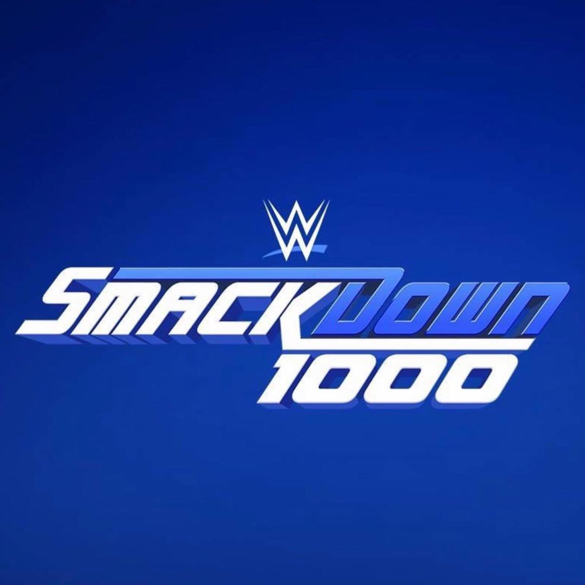 Tonight is the night we celebrate 1000 episodes of SmackDown. Thank you to all who help made SmackDown what it is today. #smackdown1000