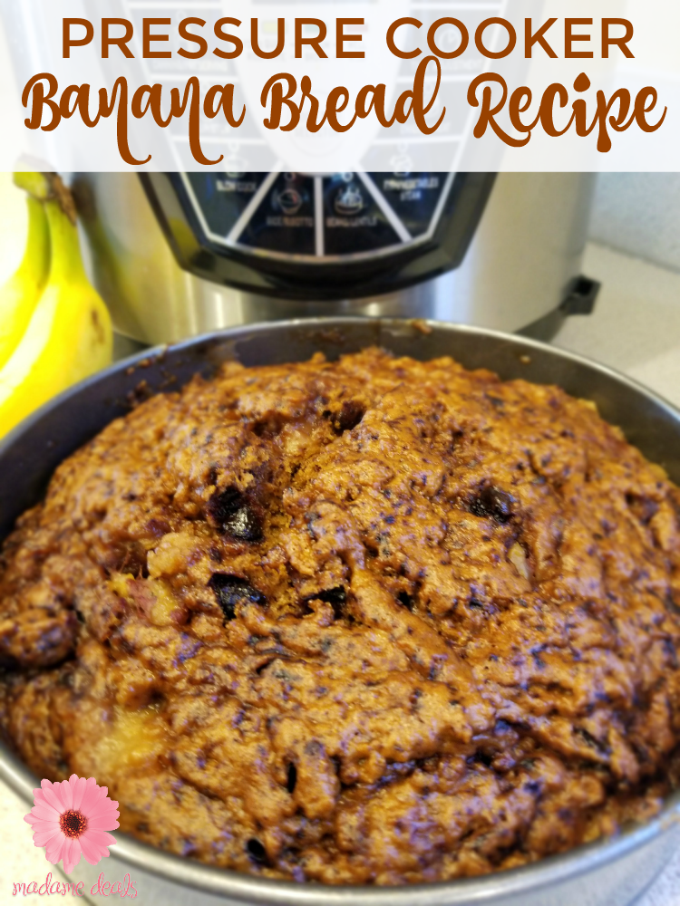 Try this delicious #PressureCooker Banana Bread #Recipe now! https://t.co/gCktYHLj0c https://t.co/fwpJOVWHq5