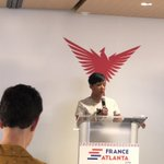 Thanks to @FranceAtlanta for the invite to the #FranceAtlanta2018 reception w/ @atlchamber! It was lovely to see Atlanta Mayor @KeishaBottoms & Consulate @LouisdeCorail & learn more about French activities in the SE USA! #innovation #lifesciences #ATL