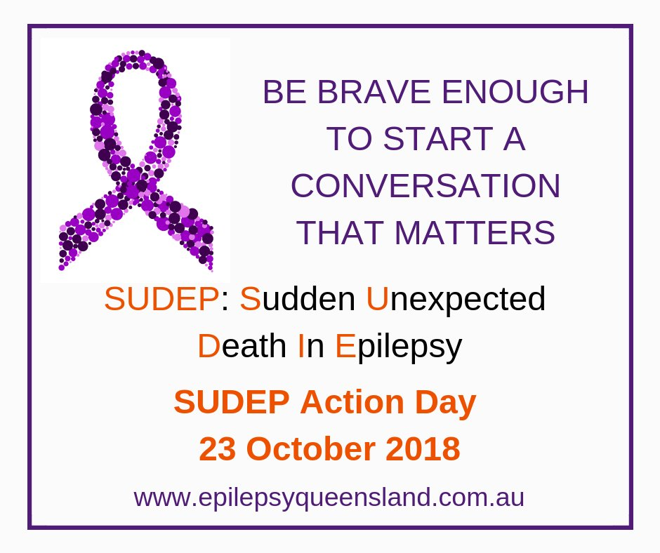 Epilepsy Queensland On Twitter Do You Know The Facts About Sudep