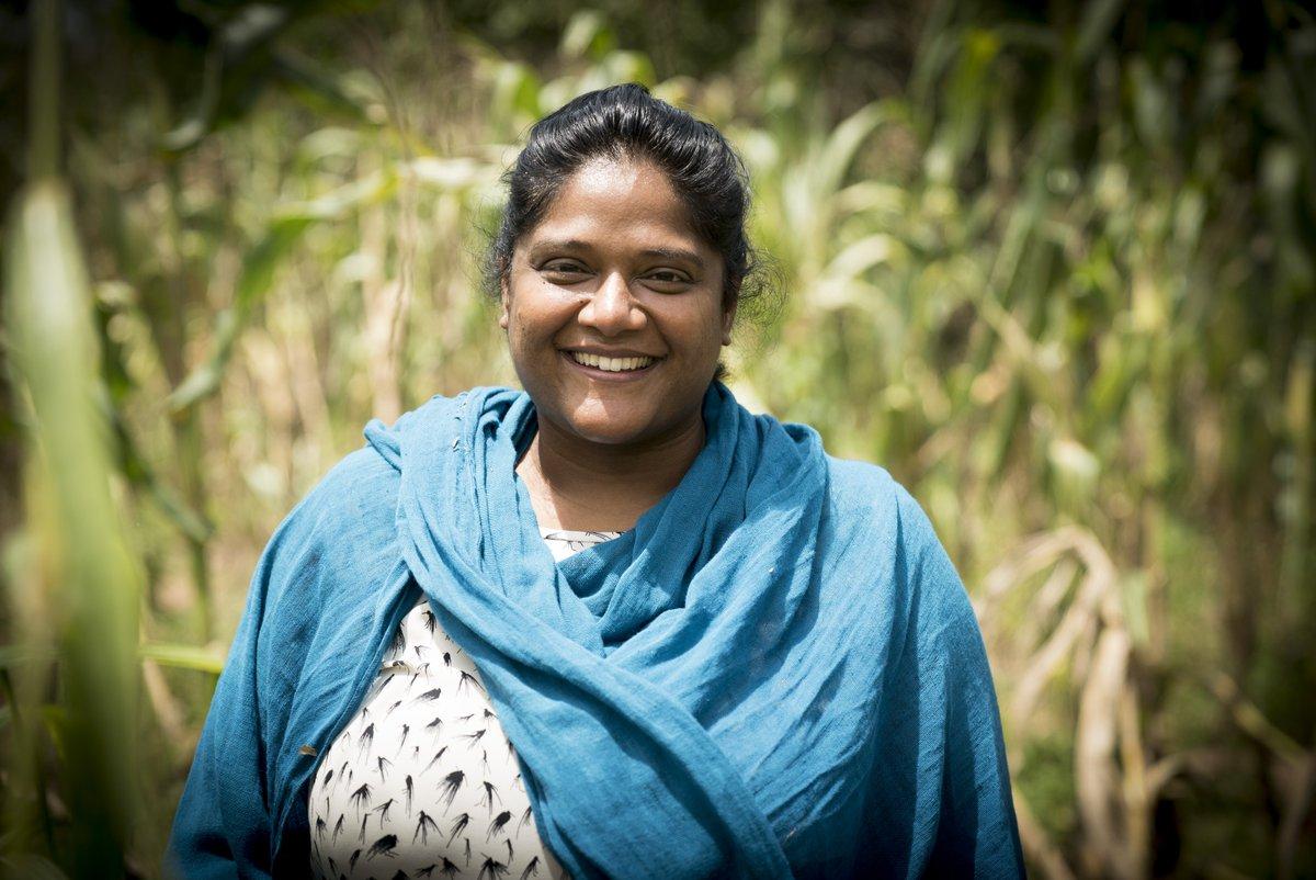 Image for the Tweet beginning: Anushka Ratnayake's vision: A world