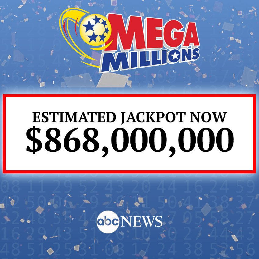 There were no jackpot winners in Tuesday night' #MegaMillionss  drawing, according to the Mega Millions website.  The jackpot now surges to  $868 million for Friday's drawinhttps://t.co/n3cVPOGNlVg.